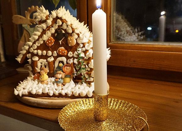 Noi, Kerzenhalter - Gold Sparkle