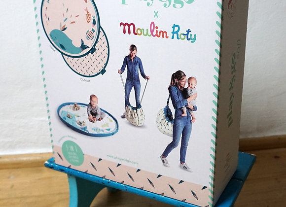 play&go, Spielzeugsack - Moulin Roty Design - 3 in 1