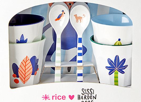Rice, Geschirr-Geburtstagsset - Dschungel