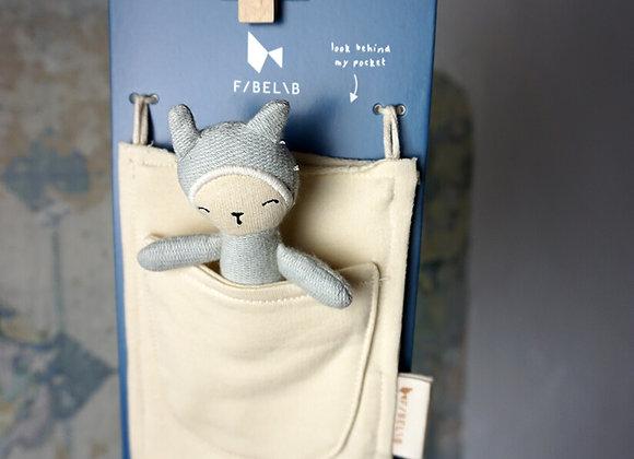 Fabelab, Pocket Friend - Bunny Foggy Blue