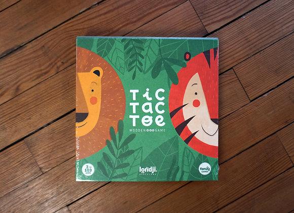 Londji, Tic Tac Toe, Löwe und Tiger - Wooden Game