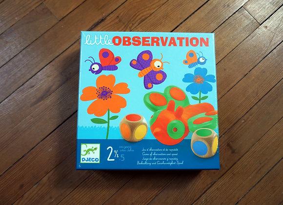 Djeco, little OBSERVATION - Beobachtung und Geschwindigkeit Spiel