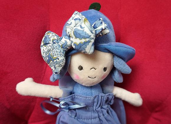Bon Dep, Haarspange - blaue Schleife