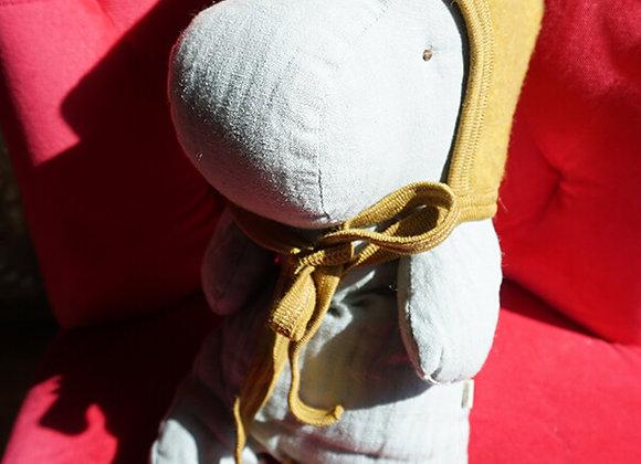 Engel, Warme Babymütze - 100% Schurwolle, senffarben