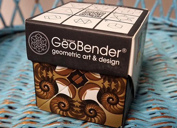 GeoBender, Magnetic Transforming Cube - Nautilus