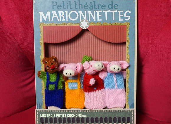 Londji, Puppentheater - Die drei kleinen Schweinchen