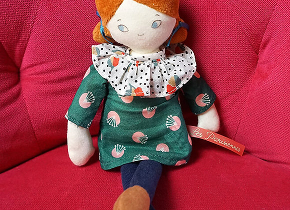 Moulin Roty, Stoffpuppe Melle Blanche - Les Parisiennes