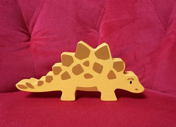 tender leaf toys, Holztier - Stegosaurus