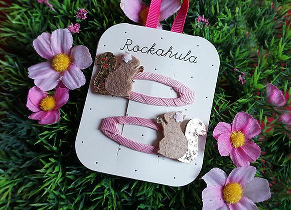 Rockahula Kids, Haarspangen - Suki Squirrel