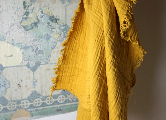 Liewood, Magda Musselin Decke - Warmes Gelb