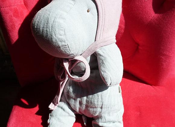 Engel, Warme Babymütze - 100% Schurwolle, lavendel