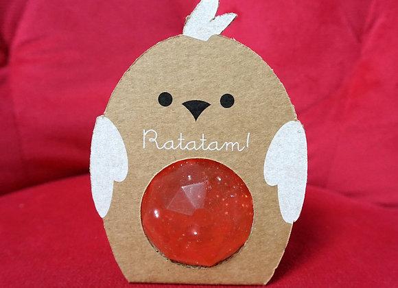 Ratatam, Huhn Gummi Ball - Pink