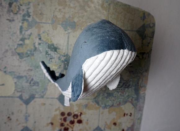 Little Dutch, Kuschel Wal Groß - Ocean Blue