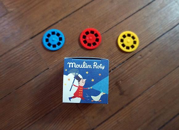Moulin Roty,  Gute Nacht Geschichten - 3 Scheiben im Set, Zirkus