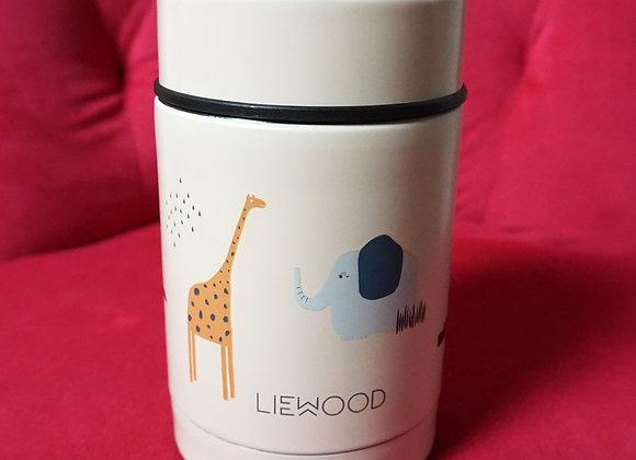 Liewood, Nadja Food Jar - 250 ml - Safari sandy mix