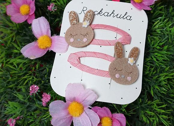 Rockahula Kids, Haarspangen - Betty Bunny Clips