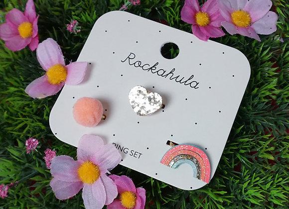 Rockahula Kids, Ringe - Rainbow Bright Ring Set