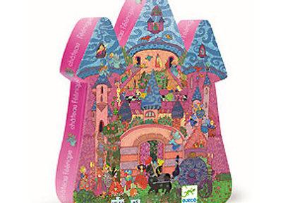 Djeco, Das Schloss aus dem Feenreich - Puzzle