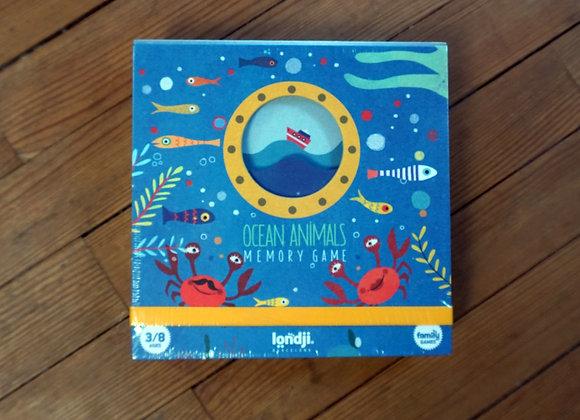 Londji, Ocean Animals - Memory Game