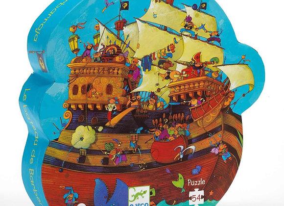 Djeco, Puzzle - Das Schiff des Barbarossa