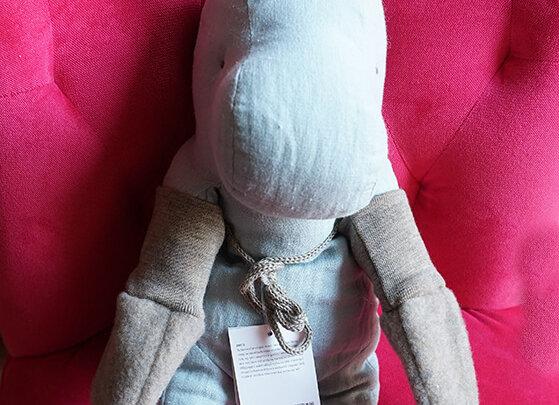 Engel, Baby-Fäustel - 100% Schurwolle, Walnuss Melange