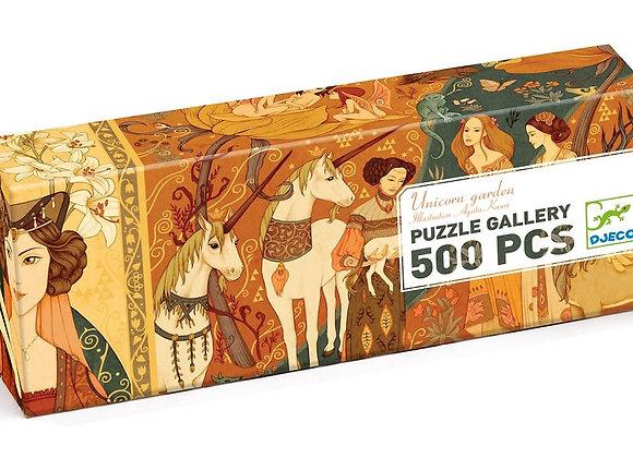 Djeco, Puzzle Gallery - Unicorn Garden