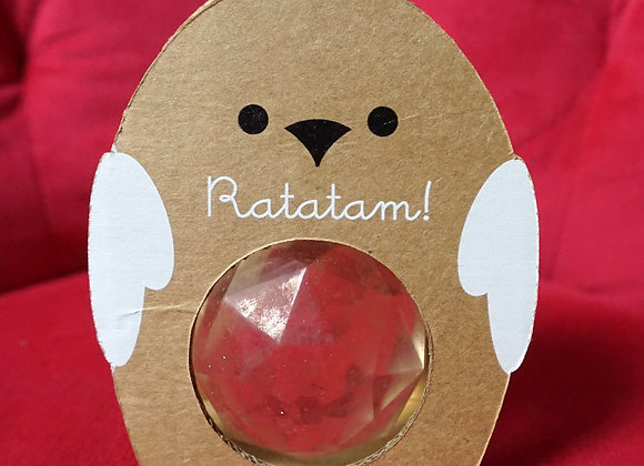 Ratatam, Huhn Gummi Ball - Hellgelb