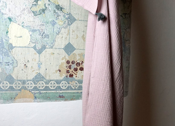 Kitz Heimat, Tuch Musselin rosa - Größe L