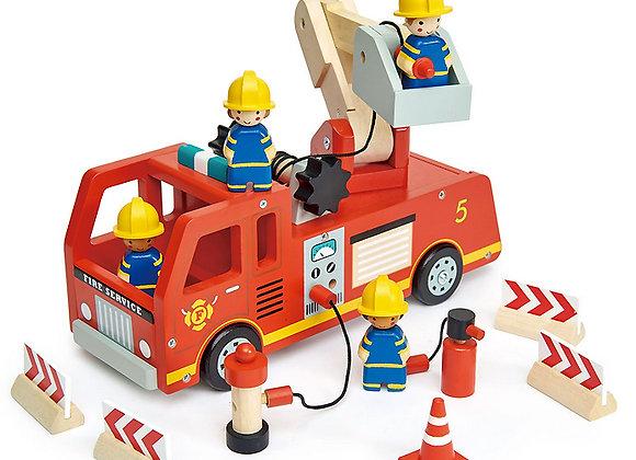tender leaf toys, Feuerwehrauto