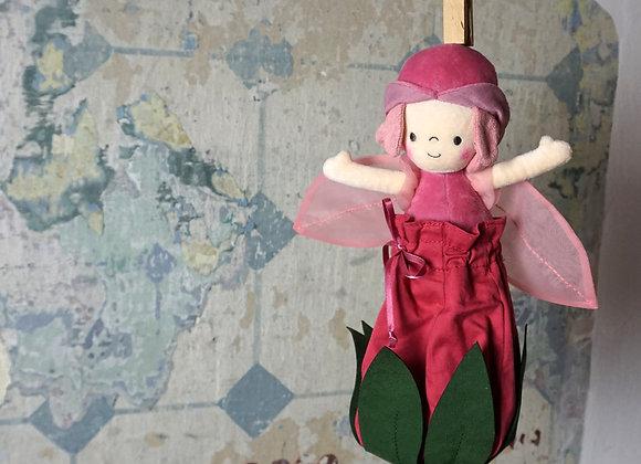 Jellycat, Rose Petalkin Doll - Rosenpuppe