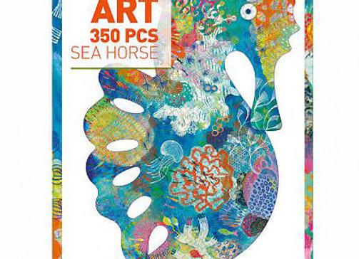 Djeco, Puzz' Art, Seahorse - Puzzle
