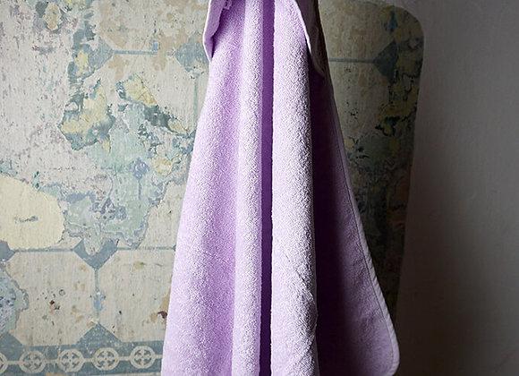 Liewood, Albert Hooded Towel - Cat Light Lavender