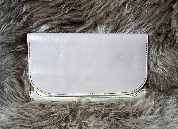 Soruka, Portemonnaie - Leather Wallet, Beige