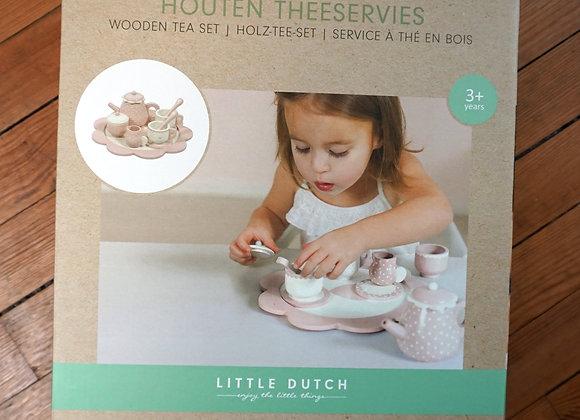 Little Dutch, Holz-Tee-Set - rosa