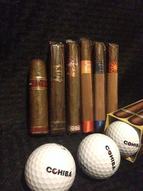 Flavored Cigar Sampler 6 pack