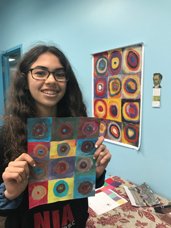 Kandinsky - Abstract Circles - Bhavani