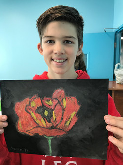 O'Keeffe - Red Poppy - Noah