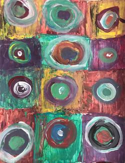 Kandinsky - Abstract Circles -