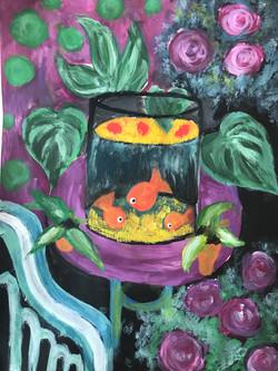 Matisse goldfish 2