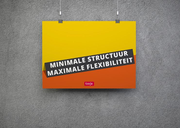 Minimale structuur maximale flexibiliteit