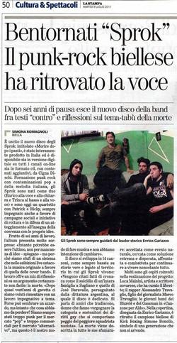 La Stampa 09 07 2013