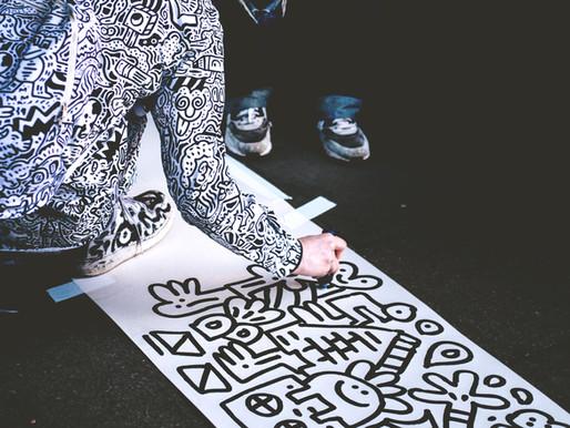 Best street art locations in town