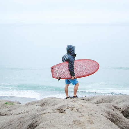 Na crista da onda - surf de inverno