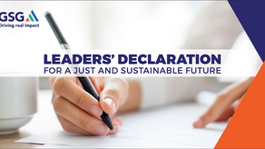 Leader's Declaration: For a Just and Sustainable Future!