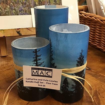 Kandle Kuff Set - Pine Trees