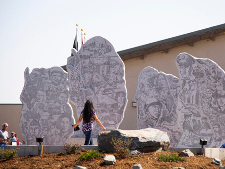 From County10: Memorial in Wyoming to honor Native American Veterans dedicated in Fort Washakie