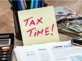 Tax Time is Here