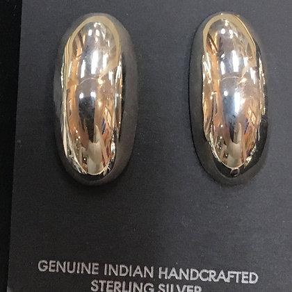 #26 Dome Earrings Medium Posts