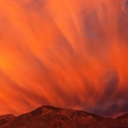 Cumulus Clouds With Virgo At Dawn