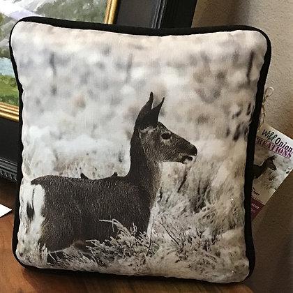 Round Valley Deer and Frozen Brush